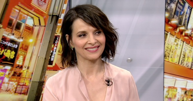 "Juliette Binoche on ""Ghost In The Shell"""