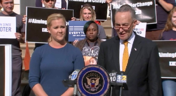Schumer Cousins Continue 'Crusade on Guns' in NYC
