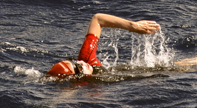 Jennifer Figge, 56, Becomes First Woman To Swim Across Atlantic Ocean