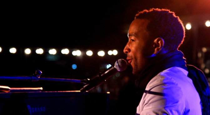 John Legend Raises the Volume for AIDS Awareness