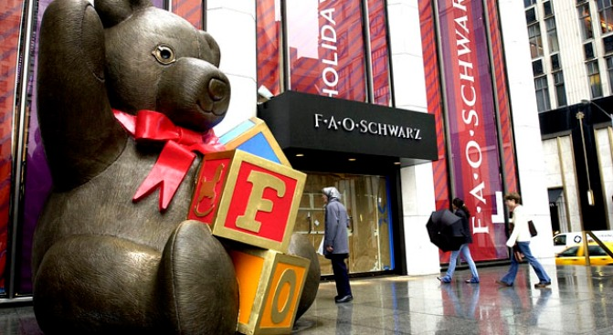 Toy's 'R' Us Buys F.A.O. Schwarz