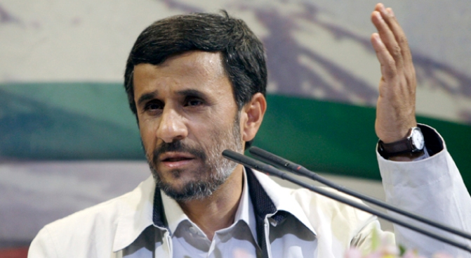 "Ahmadinejad Dismisses Clashes as ""Not Important"""