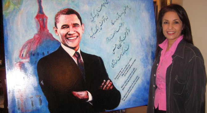 Silicon Valley Artist's Work Headed to White House