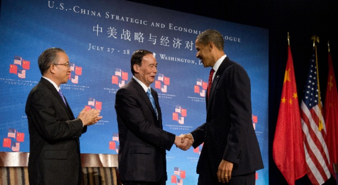 "Obama Hails Era of ""Cooperation"" With China"