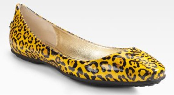Want This: Jimmy Choo Leopard Flats