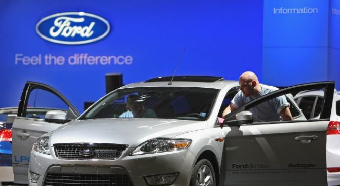 Ford Rolls To Profit