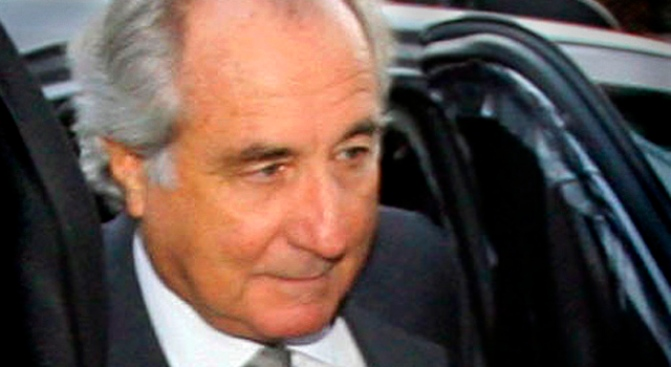 Madoff Featured in Scammers Trading Card Set
