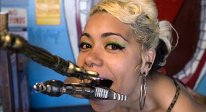 """Your Summer Gig: Coney Sideshow """"Blade Box Girl"""""""