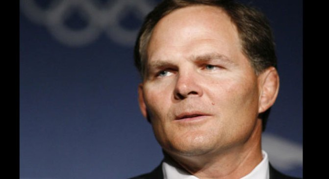 U.S. Olympic Chief Steps Down