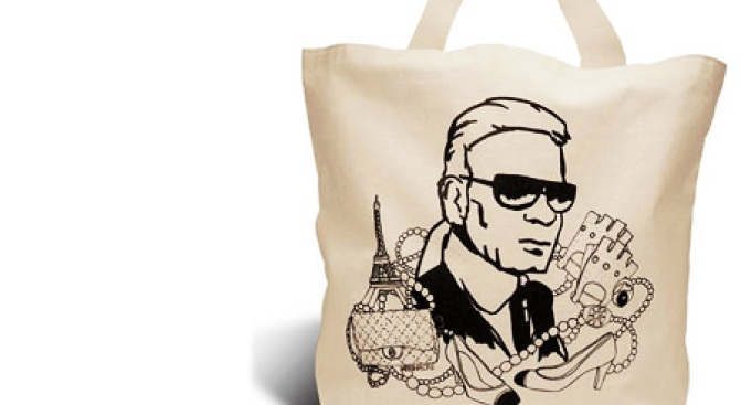 Lagerfeld Tote