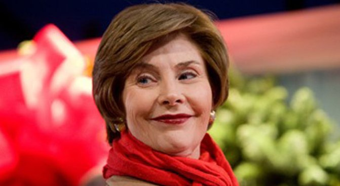 Laura Bush Fills in the Blanks