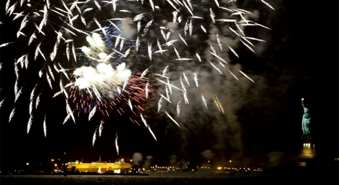 Macy's Fireworks to Light Up New York Sky