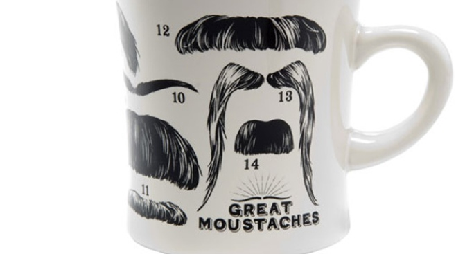 Want This: The Great Moustaches Mug
