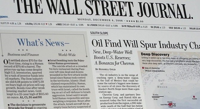 Wall Street Journal to Test New Pricing Scheme