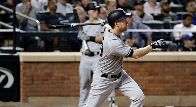 Yankees Top Rays 5-1 as Frazier Homers in Series Moved to Mets