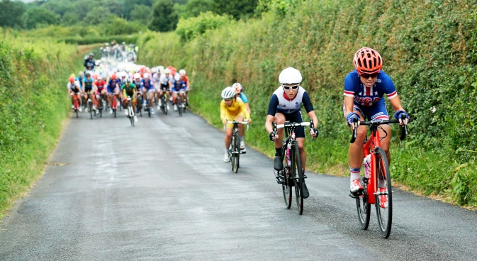 Evelyn Stevens Places 24th in Road Race
