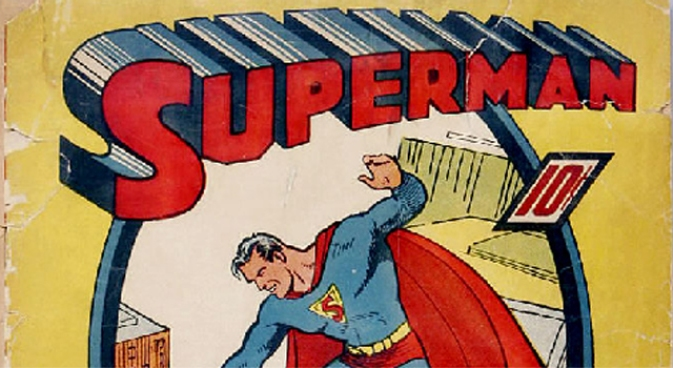 Life Imitates Art in Superman Sketches