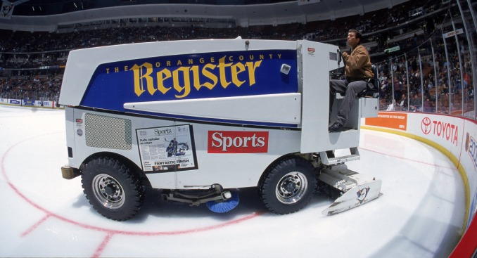 Want to Learn to Drive a Zamboni?