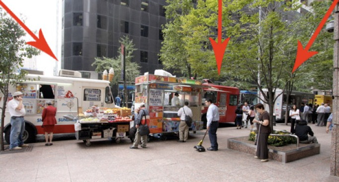 Truck Report: 45th St., Food Truck Row