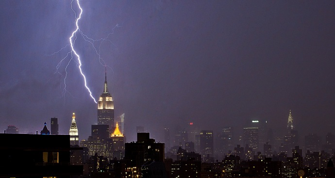 Severe Weather Strikes City, Tri-State