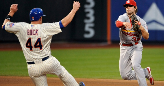 Mets Fall to Cardinals, 9-2, as Wacha Earns First Win