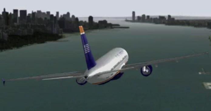 New Virtual Video of Landing on Hudson