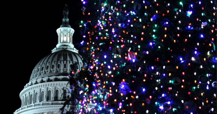 Capitol Christmas Tree Lighting to Be Held Tuesday