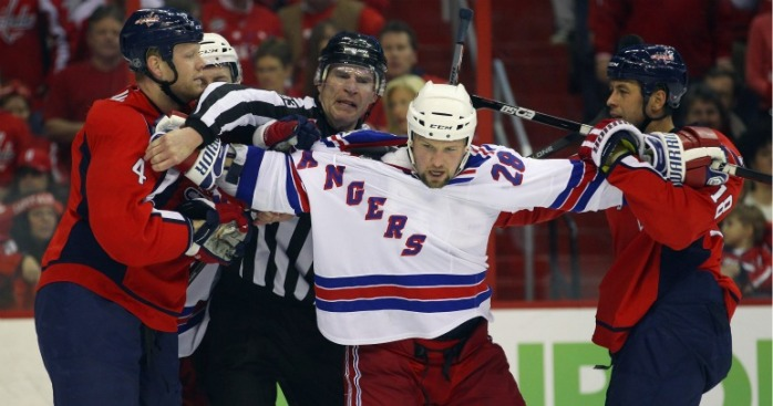 Capital Punishment: Rangers Ride Out Of D.C. in 2-0 Hole