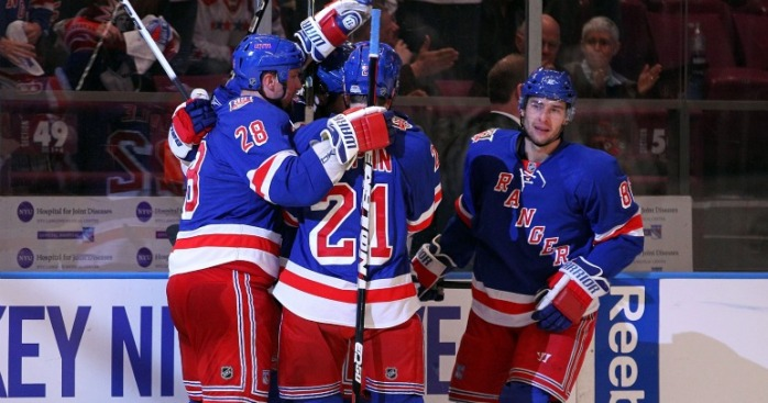They're Alive: Rangers Finally Beat Capitals
