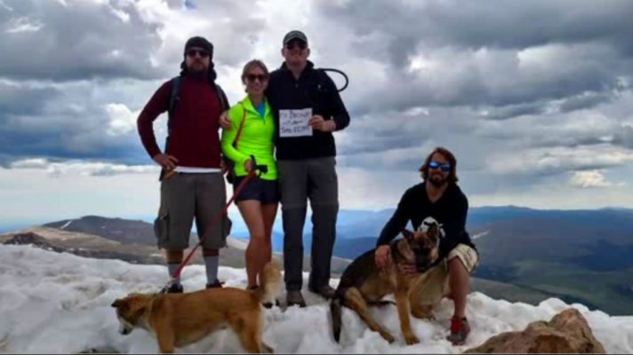 Hikers Who Survived Lightening Strike Lost Dog Named Rambo