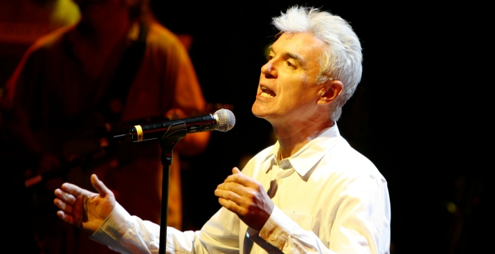 David Byrne Kicking Off Celebrate Brooklyn