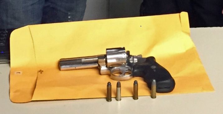 Accused Turnstile Jumper Packed a .357 Magnum, Cops Say