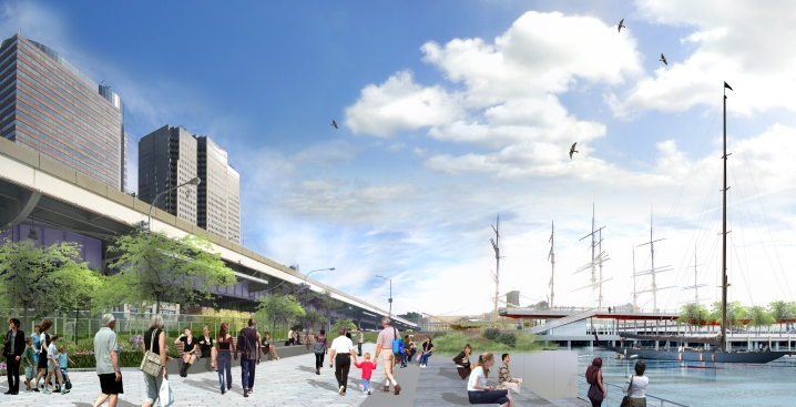 Lower East Side Waterfront Getting a Makeover