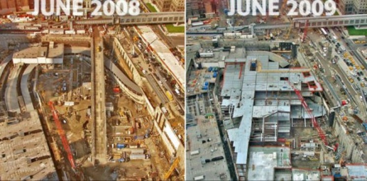 Construction Watch: WTC's Report Card in Pictures