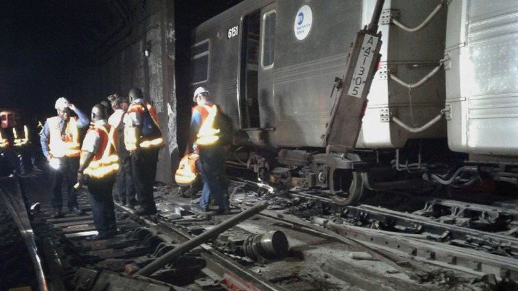 Human Error, Not Track Defect, Caused Subway Derailment: MTA