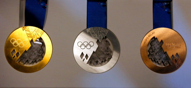 Olympians Win Asteroid-Filled Medals on Russia's Meteorite Anniversary