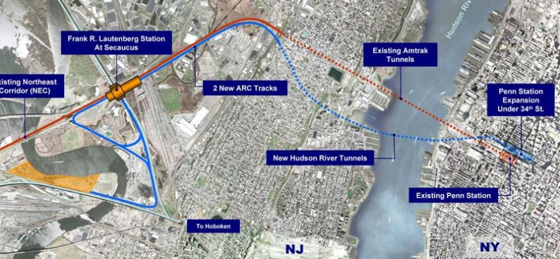 NJ Transit Approves Hudson Tunnel Contract