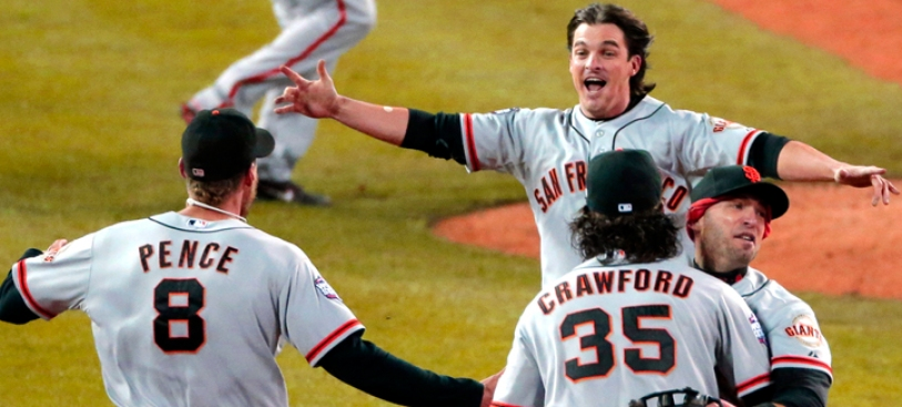 Giants' World Series Victory: Rob Lowe, Steve Martin and More Celebs Sound Off on Twitter