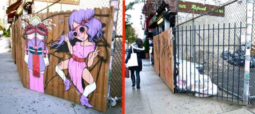 The Great Street Art Caper of Bedford Avenue