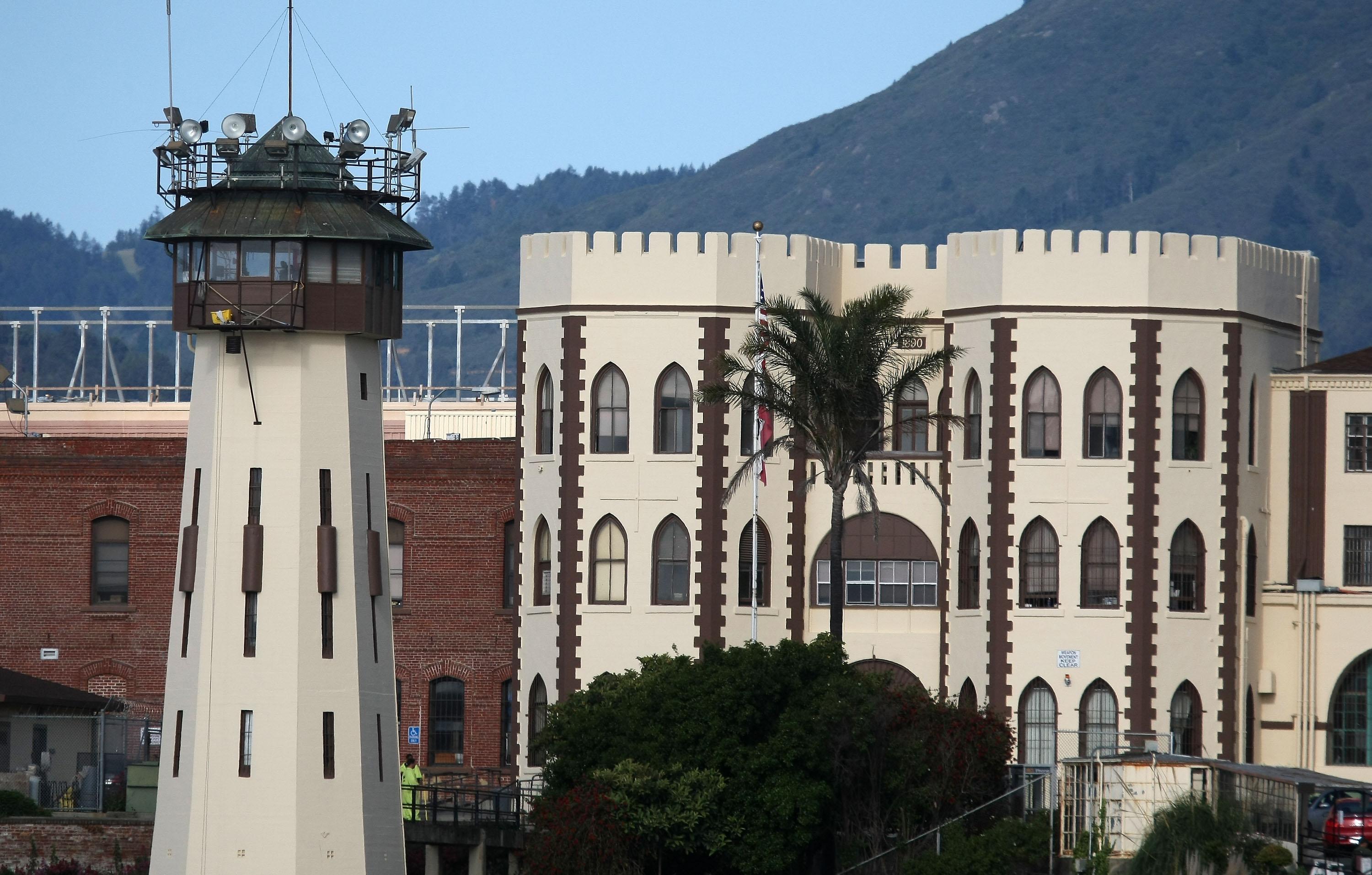 A view of the California State Prison at San Quentin on May 15, 2009.