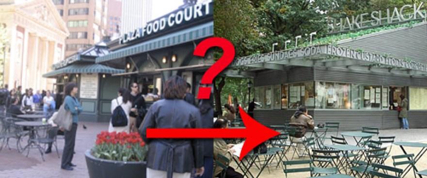 Danny Meyer Considering Plaza Food Kiosks in FiDi