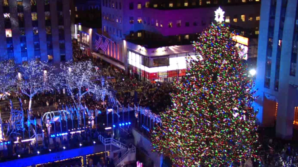 Camera Rockefeller Center : Watch live: the rockefeller center christmas tree nbc new york