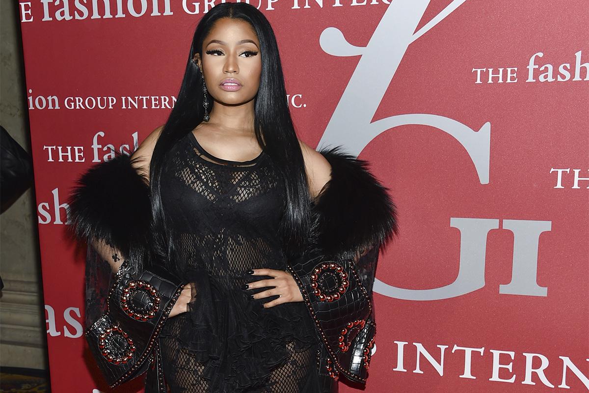 Nicki Minaj attends The Fashion Group International's Night of Stars Gala at Cipriani Wall Street on on Oct. 27, 2016, in New York.
