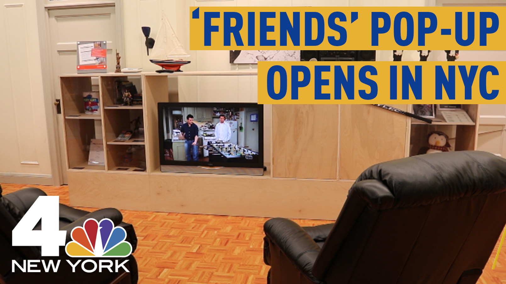 Inside the 'Friends' NYC Pop-Up
