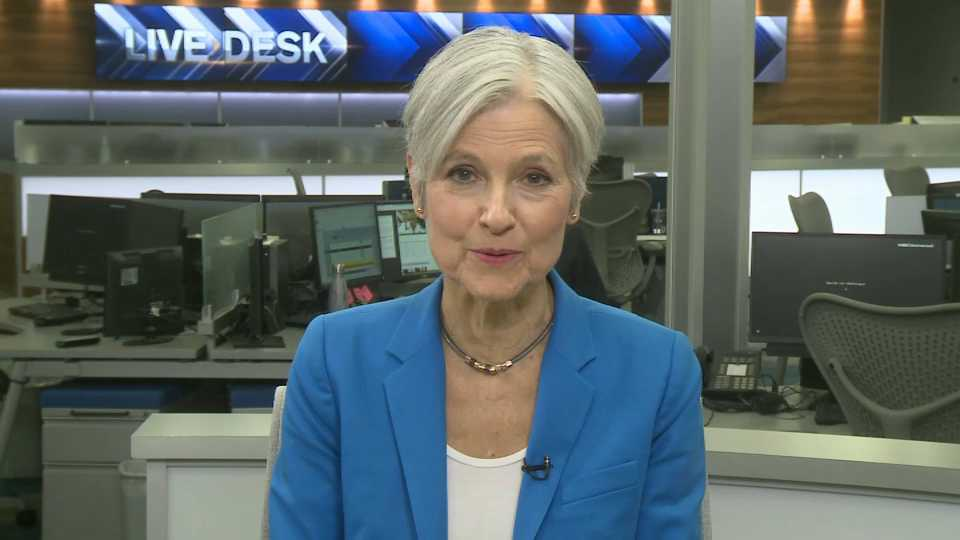Jill Stein visits necn to defend her recount efforts in Wisconsin, Pennsylvania and Michigan