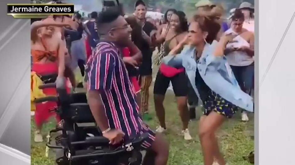 Brooklyn Man Inspires In Viral Dancing Video