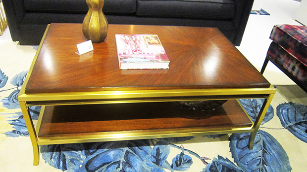 Coffee Table photo shot at High Point Market 2017 by Hamiltons Sofa & Leather Gallery