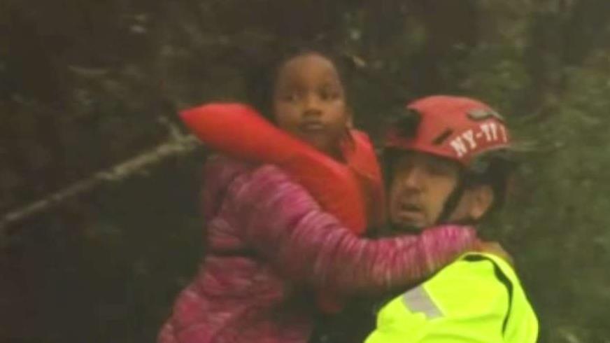 Elite NYC Rescuers Help Evacuate Homes Amid Florence