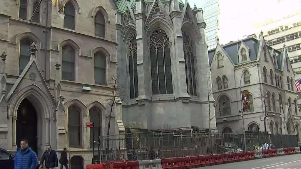 Fence Controversy at St Patricks Cathedral