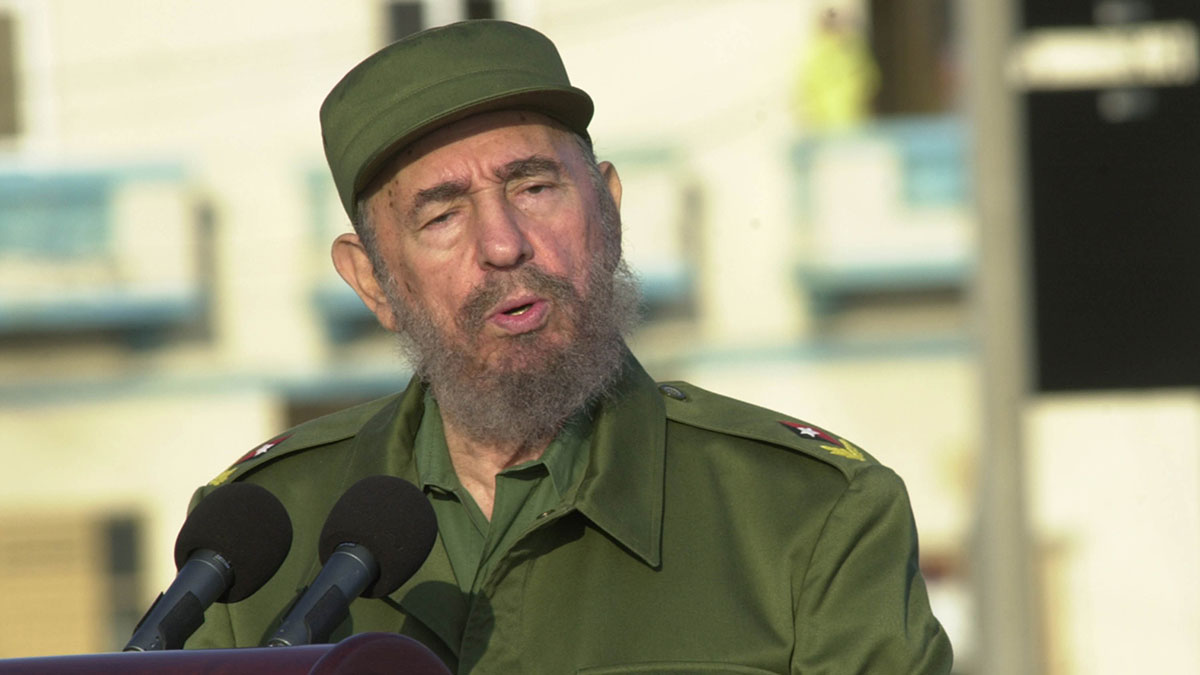 Cuba's former president and leader of the country's Communist revolution died Friday Nov. 25, 2016 at the age of 90, his brother Raul Castro announced on state television.